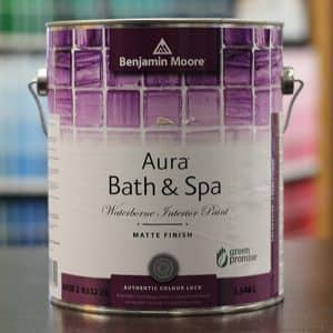 Aura Waterborne Interior Bath and Spa Paint